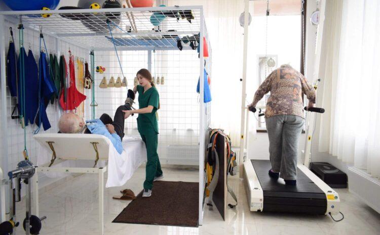 După accidente vascular-cerebrale, recuperarea medicală se face în Spitalul Sfântul Sava